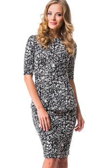 Костюм: юбка и кофта с рукавом 2/4 Mondigo со скидкой